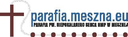 Parafia pw. Niepokalanego Serca NMP w Mesznej Logo